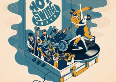 HOT SWING SEXTET · What's your jive ? : Jazz Swing
